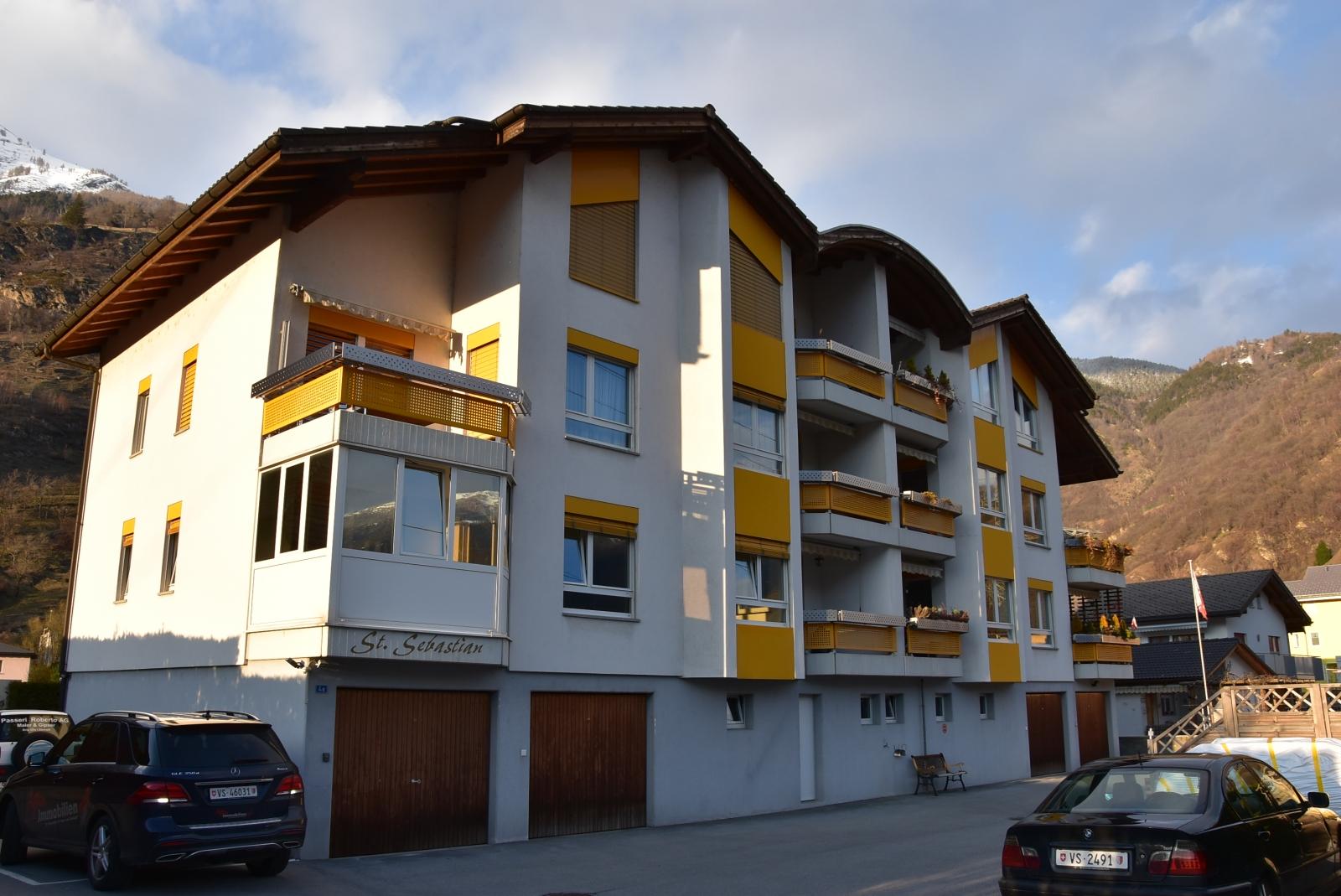 Renovierte wohnung in baltschieder kaufen for Immobile wohnung